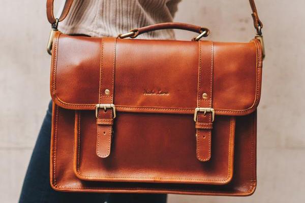 کیف ستچل / Leather Satchel bag