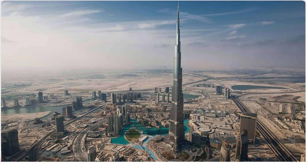برج خلیفه در دوبی