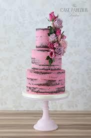 کیک شکلاتی نیمه روکش شده