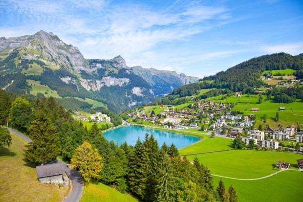 کوه های آلپ در سوئیس