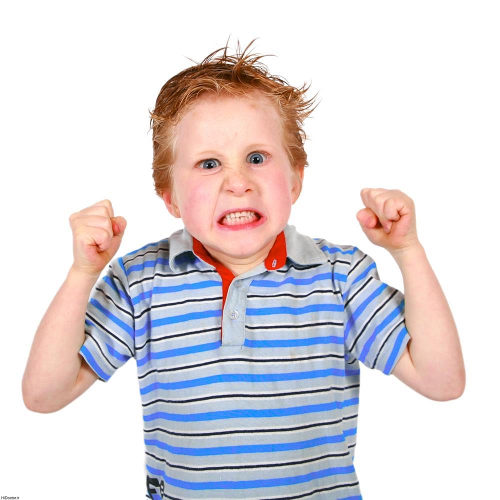 عوامل عصبانیت در کودکان را بشناسید