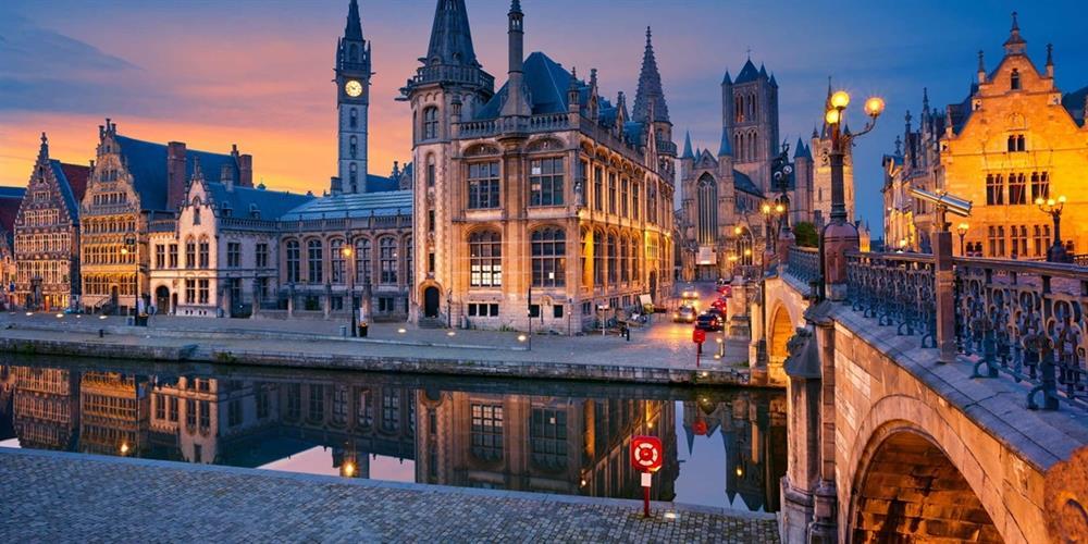 تصویری از شهر های کشور بلژیک