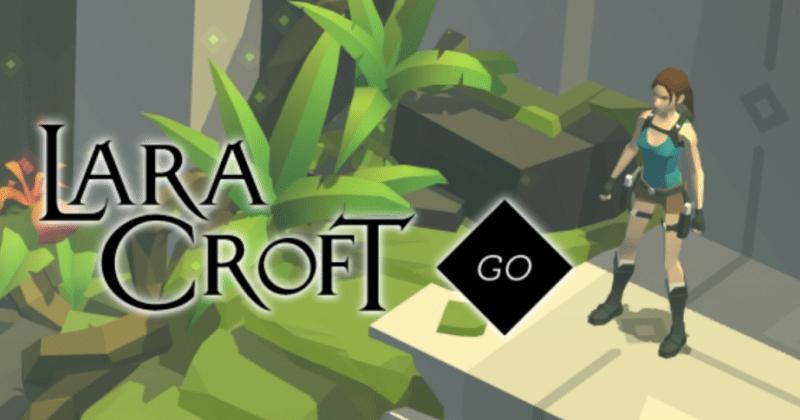 بازی Lara Croft Go برای  iOS