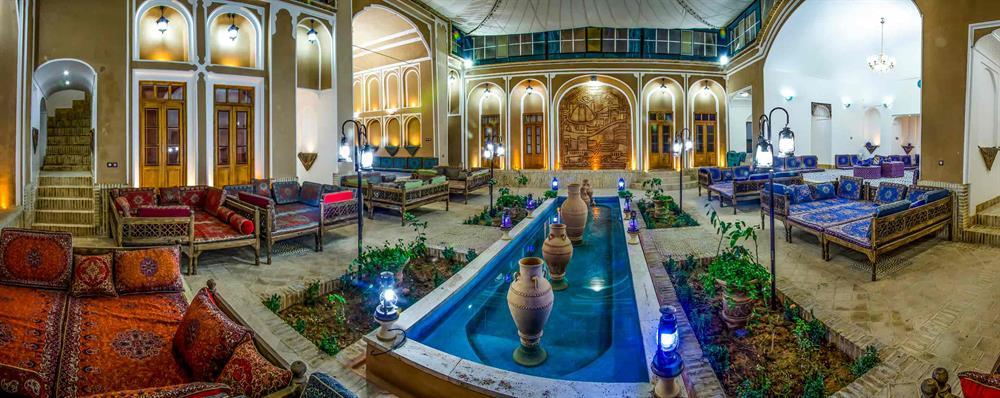 هتل های تاریخی و رستوران های سنتی شهر زیبای یزد