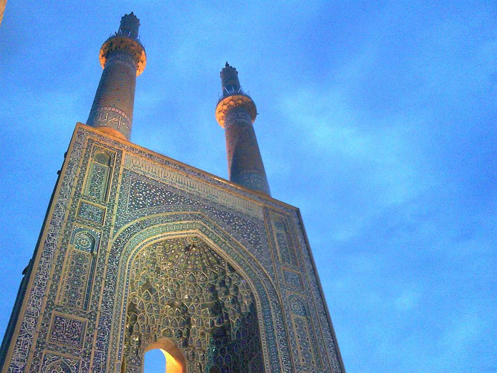 سر در مسجد جامع یزد