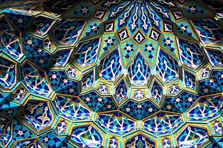 کاشی کاری های مسجد جامع یزد