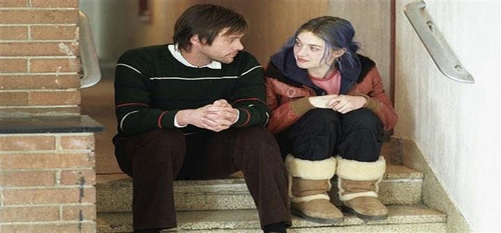 جیم کری و کیت وینسلت در فیلم درخشش ابدی یک ذهن پاک