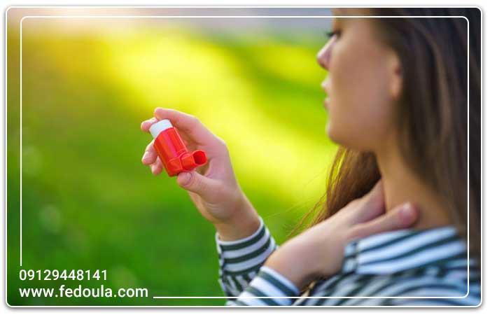 درمان آسم خفیف