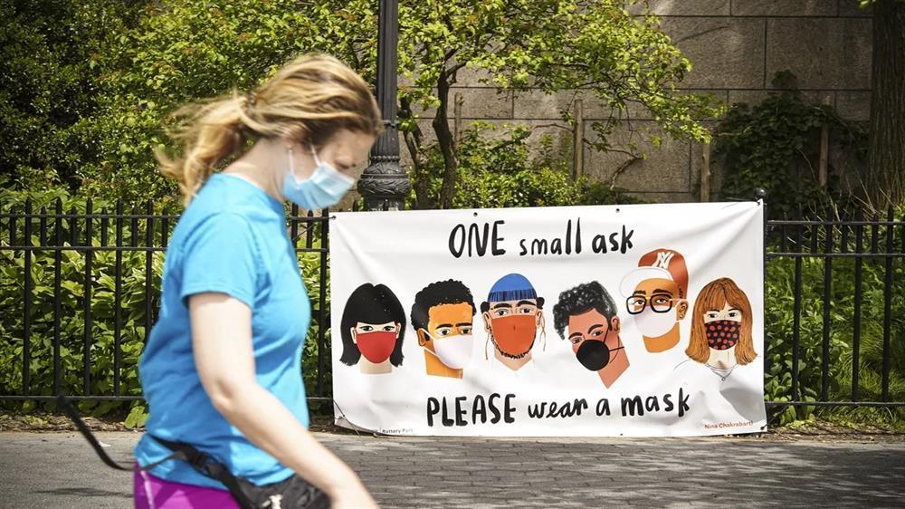 پوشیدن ماسک یک وظیفه اجتماعی