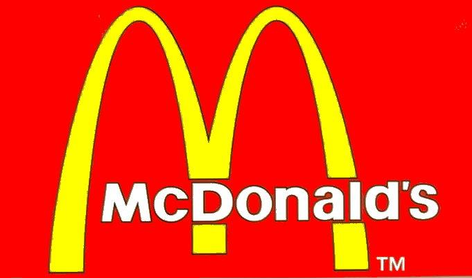 لوگوی معروف مک دونالد