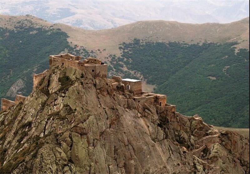 قلعه بابک واقع در آذربایجان شرقی
