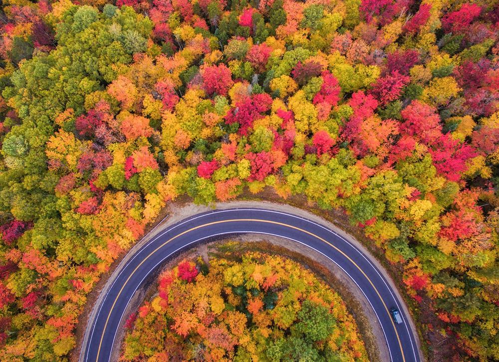 جاده چالوس از زیباترین جاده های جهان
