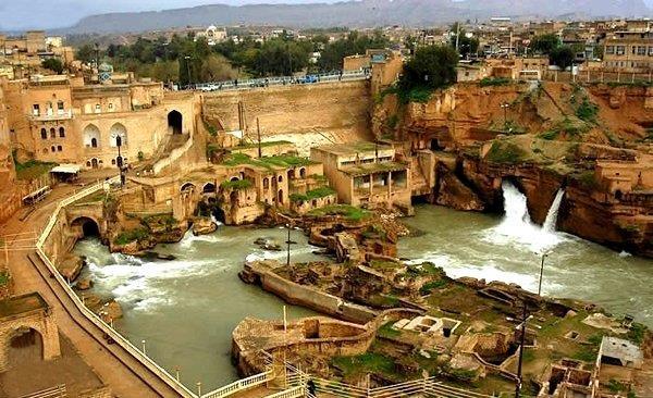 سازه های آبی تاریخی شوشتر  اثر باقی مانده از دوره هخامنشیان