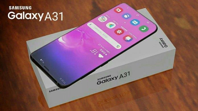 گوشی موبایل Galaxy A31
