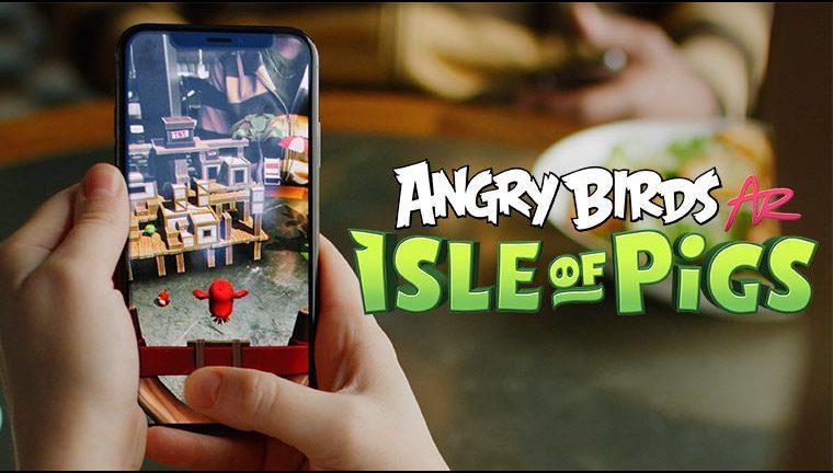 بازی Angry Birds AR: Isle of Pigs
