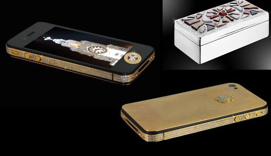 گوشی iPhone 4S Elite Gold