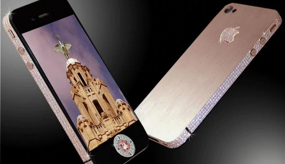 گوشی iPhone 4 Diamond Rose Edition
