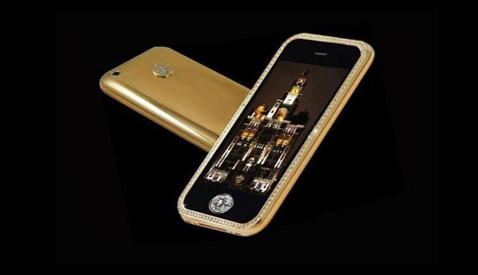 گوشی Goldstriker iPhone 3GS Supreme