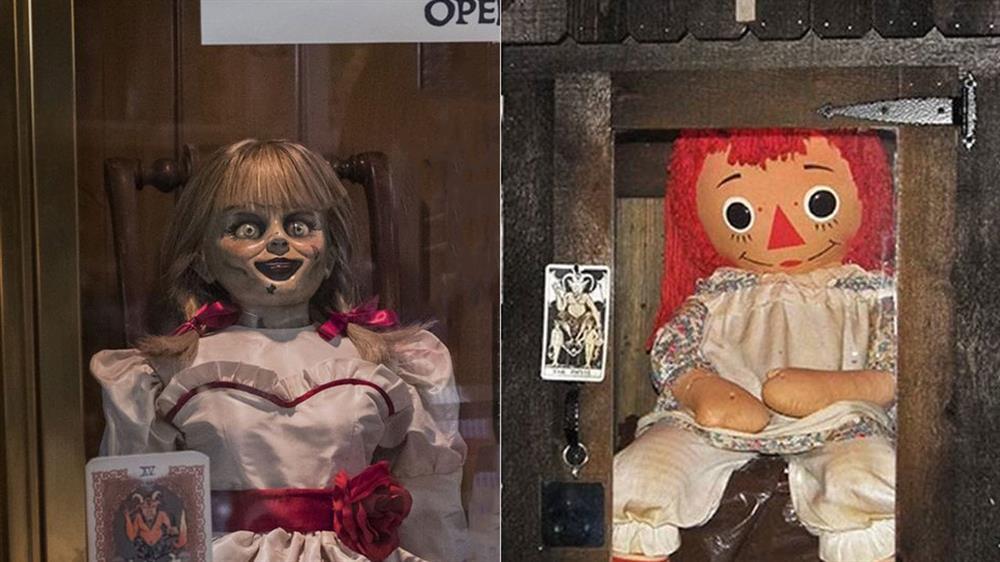 عروسک آنابل واقعی و عروسک آنابل سری فیلم های آنابل