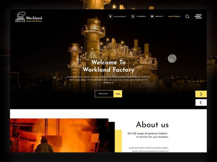 طراحی وب سایت تولیدی برای دیده شدن بهتر