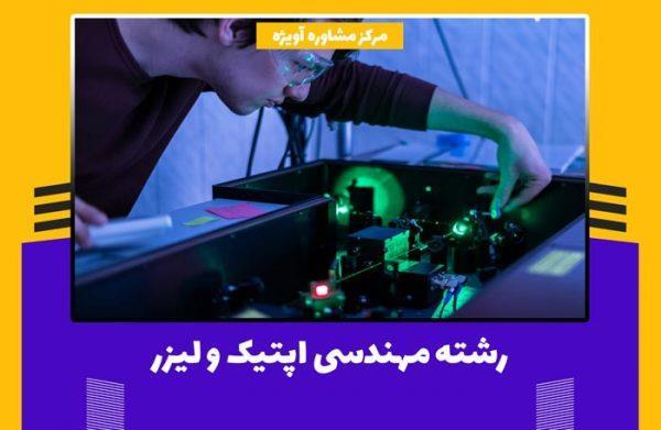 رشته مهندسی اپتیک و لیزر از رشته های جدید و جذابی است که با پیشرفت صنعت و تکنولوژی وارد دانشگاه های ایران و جهان شده است. این رشته تاثیرات و پیشرفت های مهم و به سزایی در عرصه درمانی، هنری و ارتباطی داشته است.