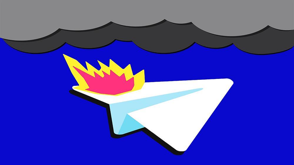 از دسترس خارج شدن پیام رسان تلگرام