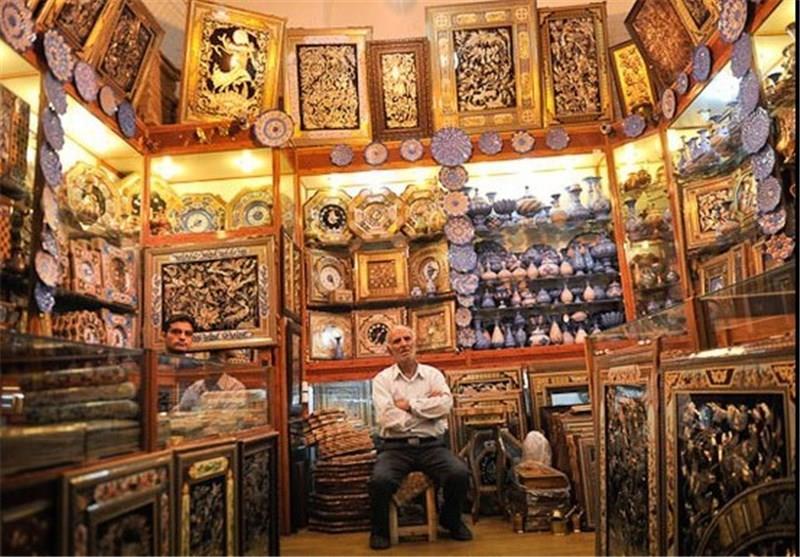 مغازه های صنایع دستی یزد