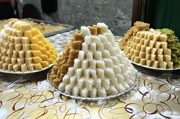 لوز / شیرینی معروف یزد