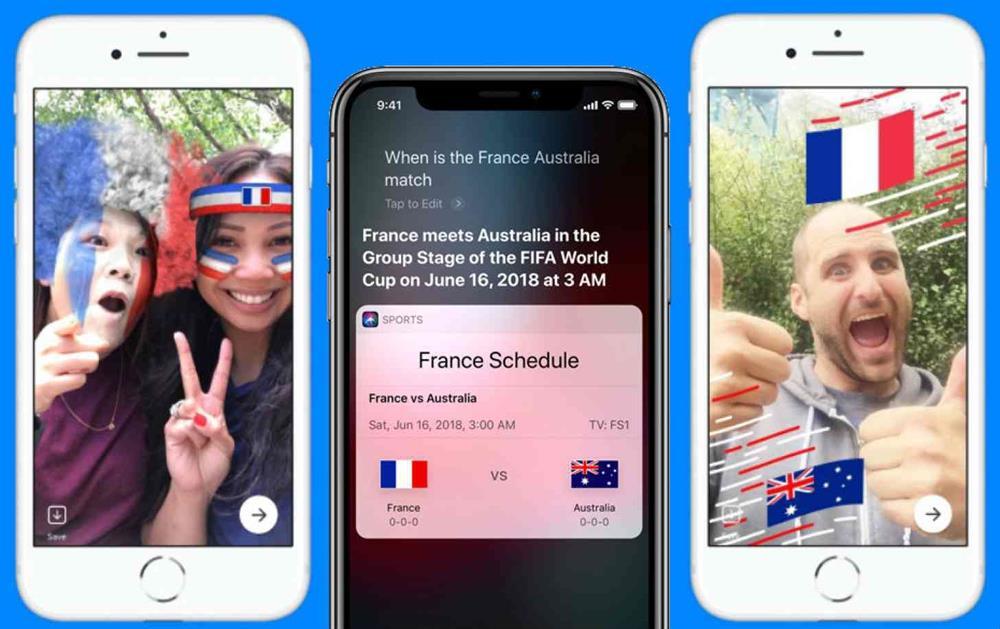 اپل محصولات سیری Siri، اپل استور، iBook و Podcasts را آماده مسابقات جام جهانی 2018 کرده است