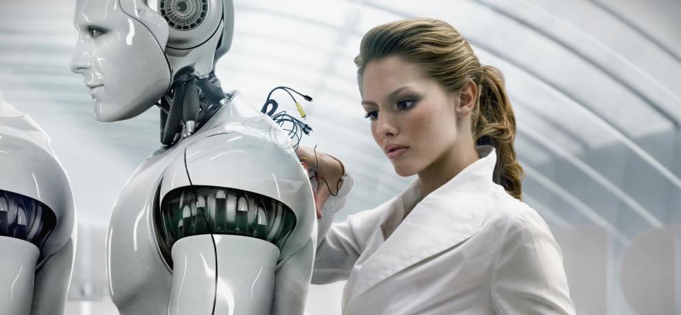 نمادی از هوش مصنوعی در آینده