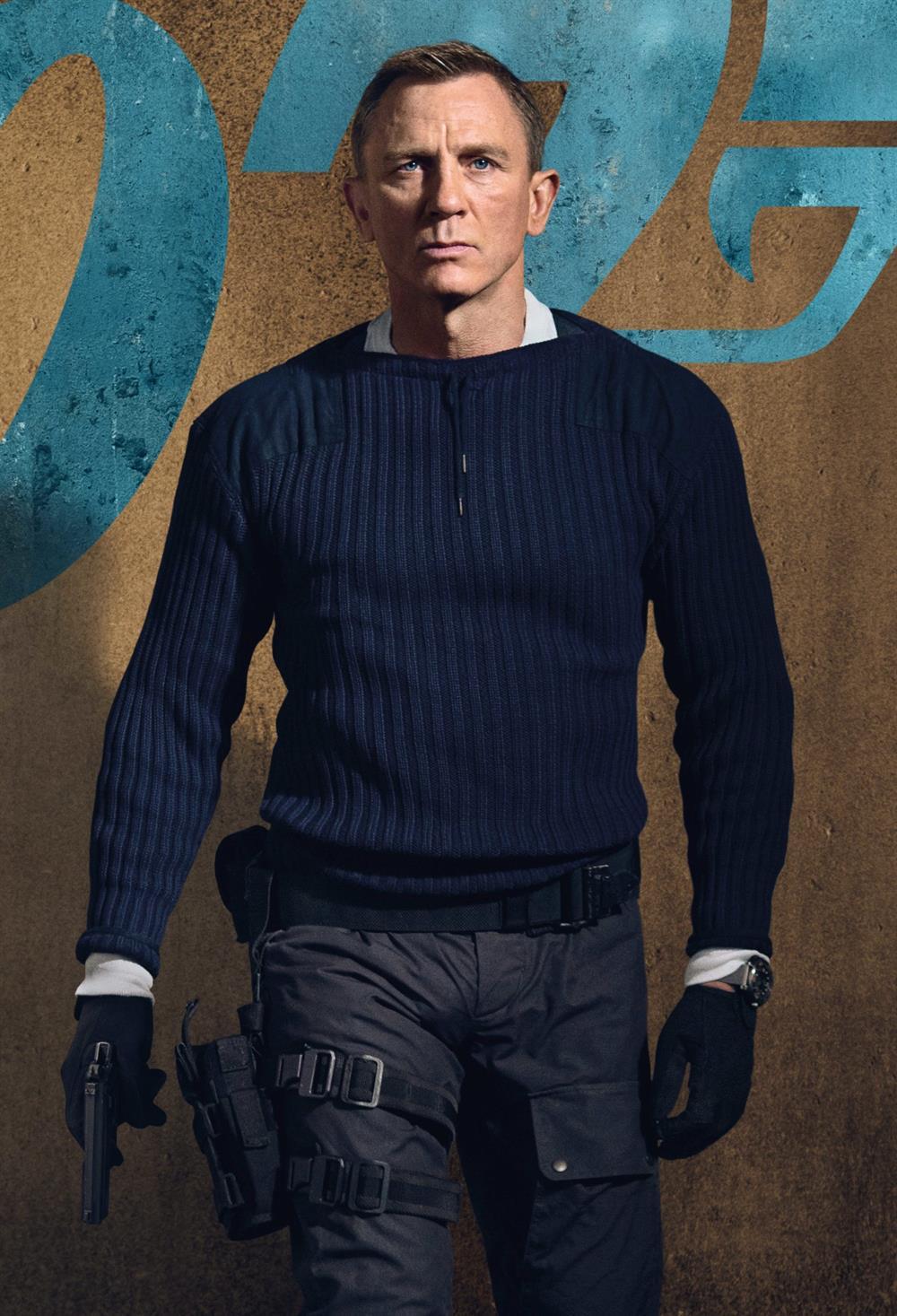 دنیل کریگ در نقش مامور 007