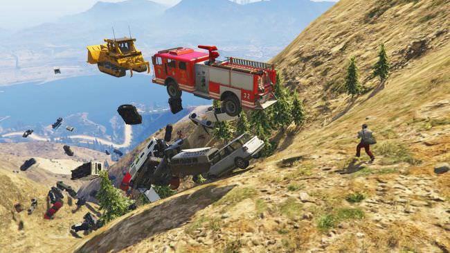 مد شلیک وسایل نقلیه بجای گلوله در بازی GTA V