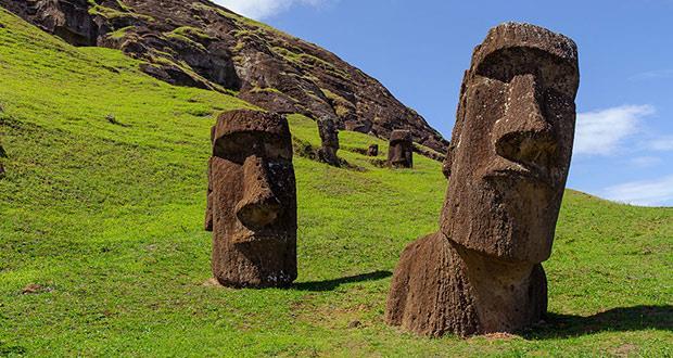 راز مجسمه های غول پیکر در جزیره ایستر