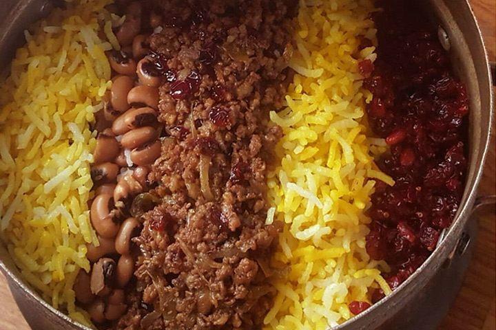 لوبیا پلو ، یک سبک خاص در بین غذاهای شیراز