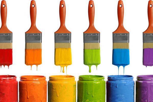 انواع رنگ ساختماني