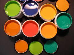 انواع رنگ روعنی