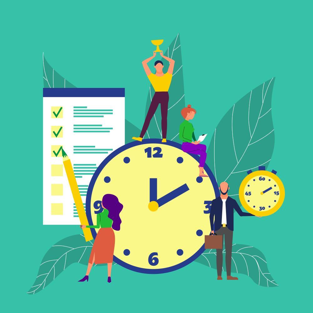 عالی عمل کردن در  مدیریت زمان