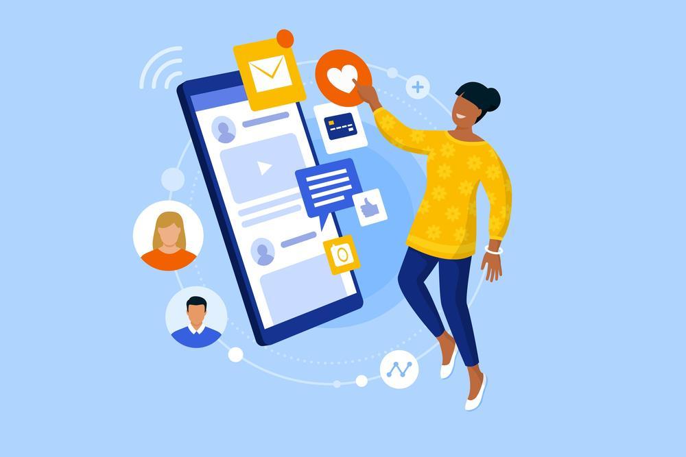تعامل کاربر با رابط کاربری شما