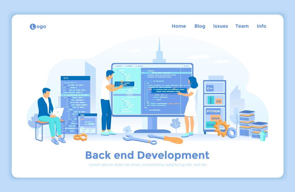 نقش توسعه دهنده Backend