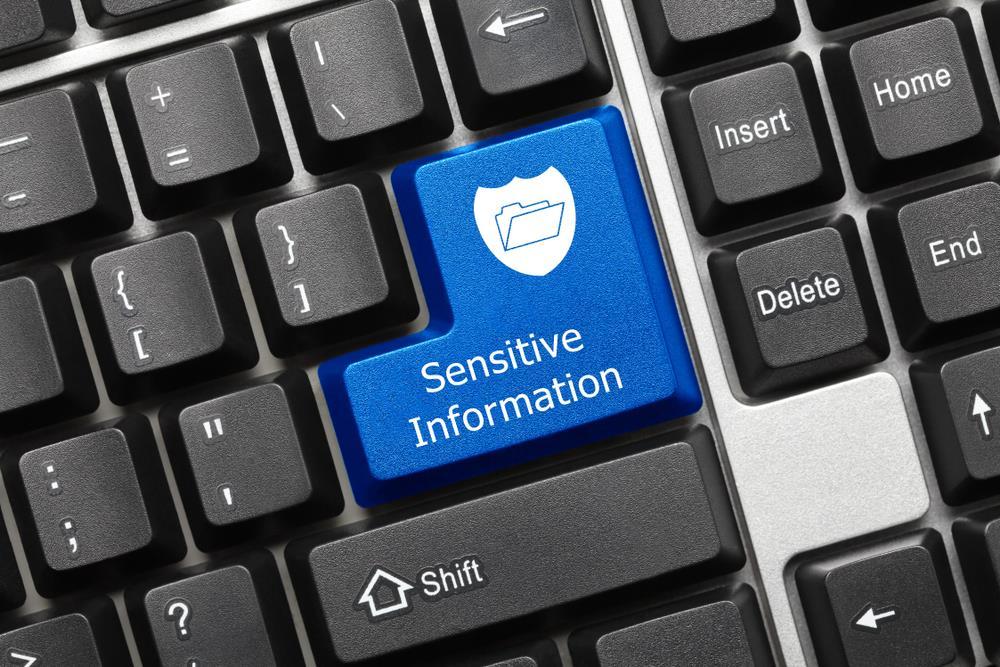 اطلاعات حساس