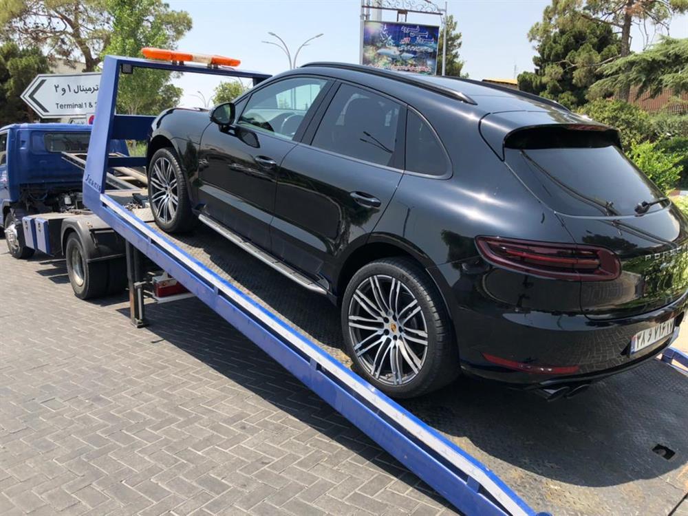 حمل خودرو در تبریز