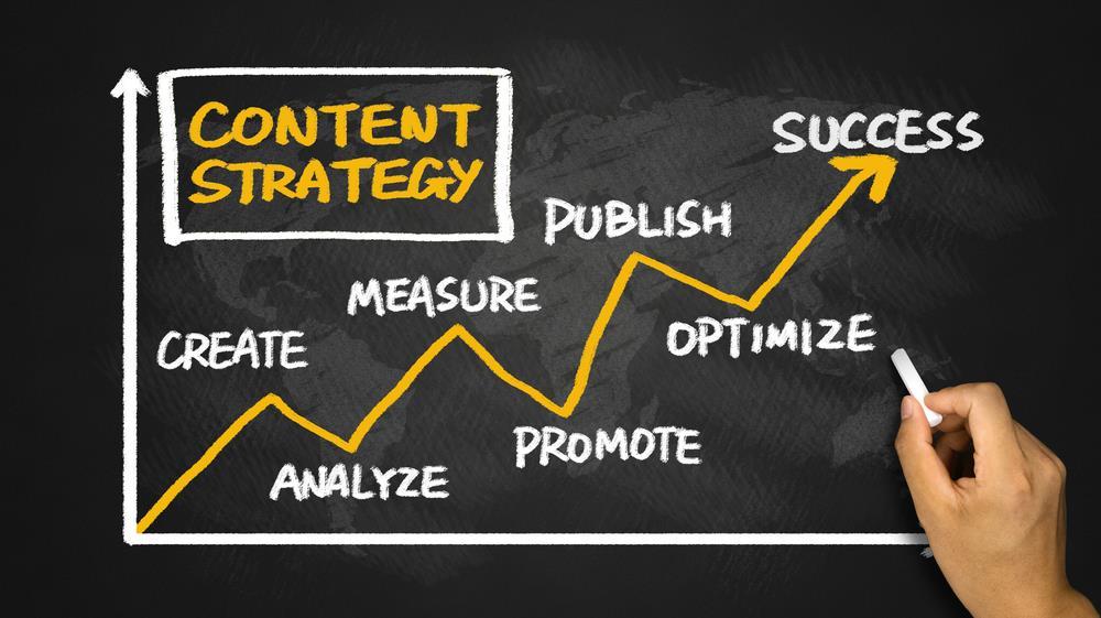 داشتن استراتژی برای نوشتن محتوا