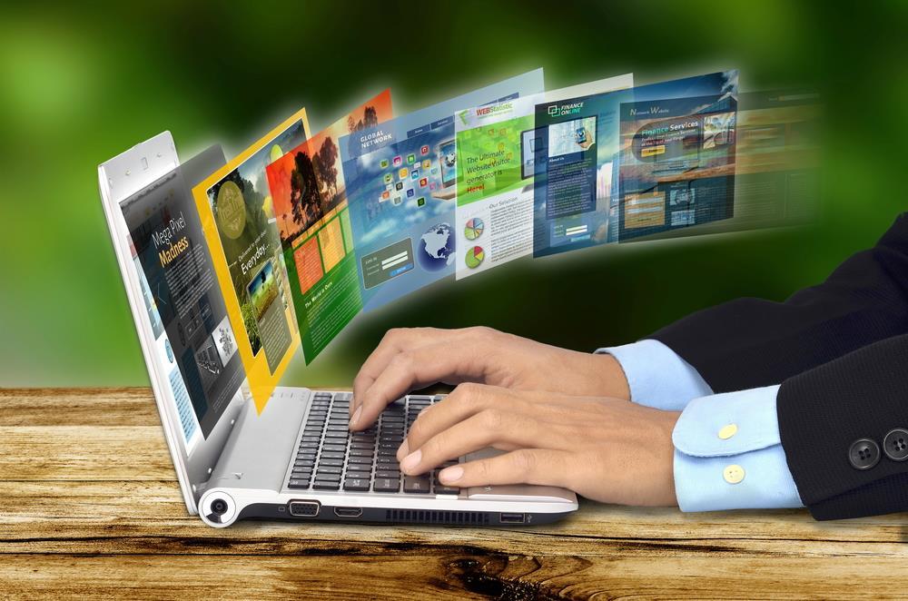 ایجاد هر نوع وب سایت