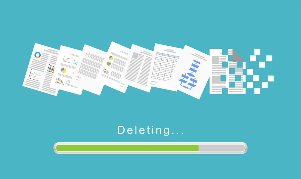 حذف صفحات غیر ضروری