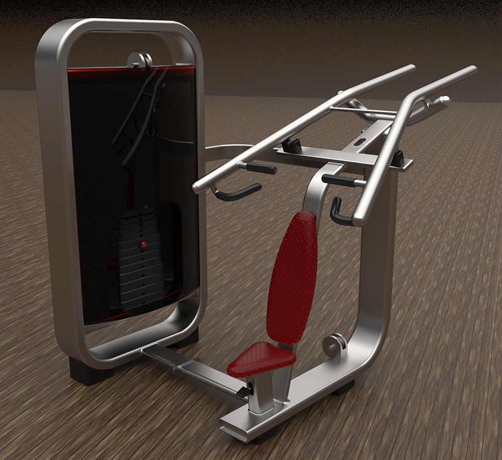 آموزش حرفه ای کتیا و کی شات-ساخت دستگاه ورزشی در CATIA و انیمت در Keyshot