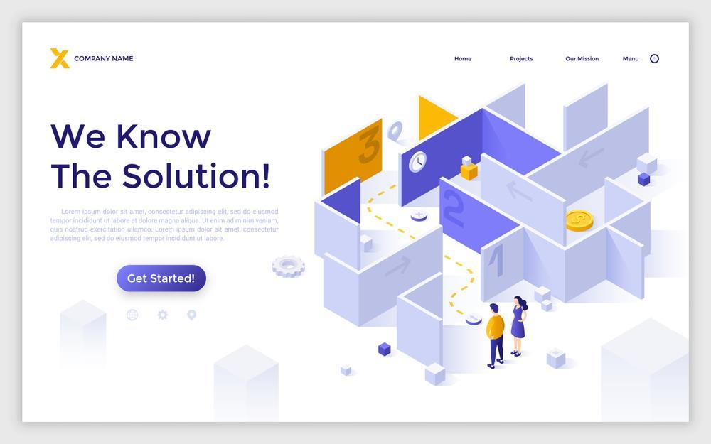 پیدا کردن مشکل طراحی اولیه سایت