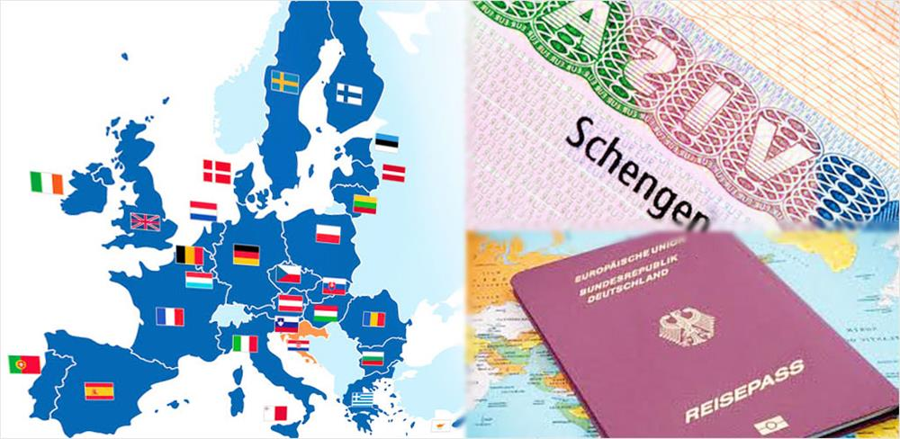 از کدام کشور شینگن، ویزا بگیریم