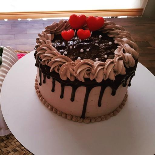 تزیین کیک شکلاتی