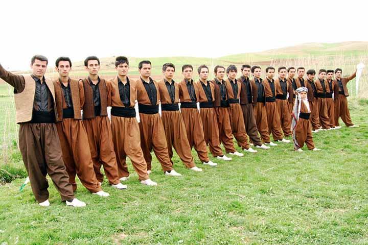 قوم کرد و طبیعت سرسبز کردستان