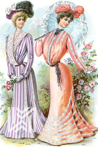مد زنان در دهه ۱۹۰۰